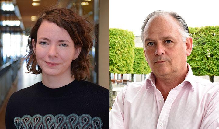 Bilden visar Judith Brand och Scott Montgomery