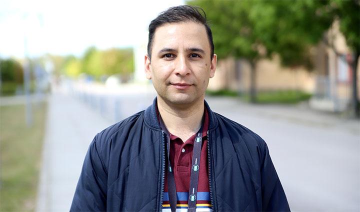 Faisal Ahmad Khan, forskare på Örebro universitet